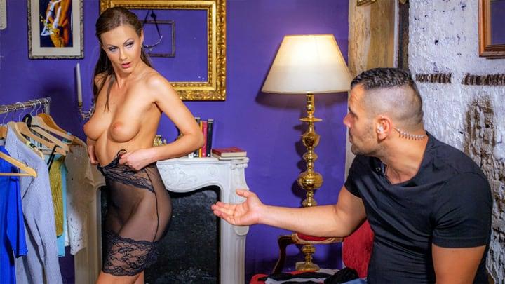 The security guard and the model – Tina Kay