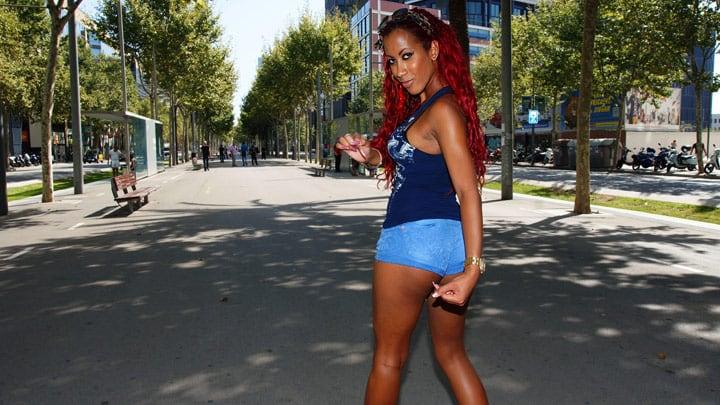 Cuban buttocks – Afra Red