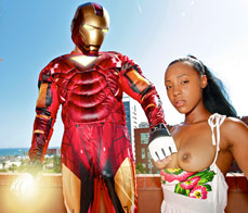 Iron Dick - Iron Man XXX Porn