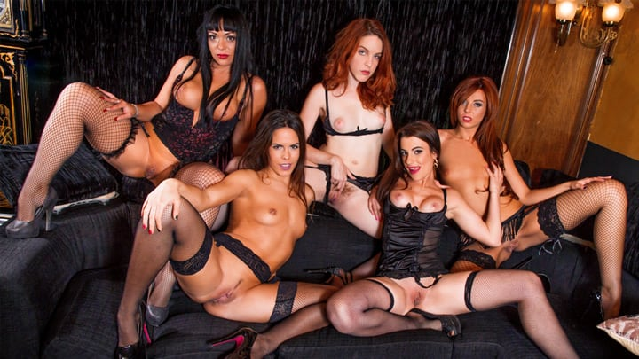 Amarna Miller's girls gone wild